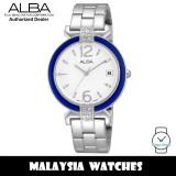 Alba AG8437X Fashion Quartz Analog White Dial Stainless Steel Women's Watch AG8437 AG8437X1 (from SEIKO Watch Corporation)