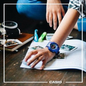 (OFFICIAL MALAYSIA WARRANTY) Casio Baby-G BA-112-2A Standard Analog & Digital Women's Resin Watch (Blue)