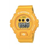 (OFFICIAL MALAYSIA WARRANTY) Casio G-SHOCK Limited Color GD-X6900HT-9 HEATHERED Series Digital Men's Resin Watch (Yellow)