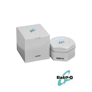 (OFFICIAL MALAYSIA WARRANTY) Casio Baby-G BA-111-1A Standard Analog & Digital Women's Resin Watch (Black & Pink)