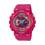 (OFFICIAL MALAYSIA WARRANTY) Casio Baby-G BA-112-4A Standard Analog & Digital Women's Resin Watch (Pink)