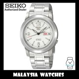 Seiko 5 SNKE57K1 Automatic See-thru Back White Dial Stainless Steel Bracelet Gents Watch