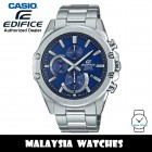 (OFFICIAL WARRANTY) Casio Edifice EFR-S567D-2A Quartz Chronograph Blue Dial Sapphire Glass Stainless Steel Men's Watch EFRS567D EFRS567D-2A EFR-S567D-2AVUDF