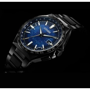 (100% Original) Citizen CB0219-50L Attesa Titanium Technology 50th Anniversary Cosmic Blue Collection Limited Edition Men's Watch