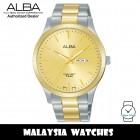 Alba AJ6126X Quartz Gold-Tone Dial Two-Tone Stainless Steel Men's Watch AJ6126 AJ6126X1 (from SEIKO Watch Corporation)