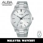 Alba AJ6123X Quartz Silver-Tone Dial Silver-Tone Stainless Steel Men's Watch AJ6123 AJ6123X1 (from SEIKO Watch Corporation)