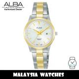 Alba AH7Y00X Quartz Silver-Tone Dial Two-Tone Stainless Steel Women's Watch AH7Y00 AH7Y00X1 (from SEIKO Watch Corporation)