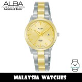 Alba AH7Y02X Quartz Gold-Tone Dial Two-Tone Stainless Steel Women's Watch AH7Y02 AH7Y02X1 (from SEIKO Watch Corporation)