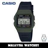 (100% Original) Casio F-91WM-3A Classic Digital Green / Black Resin Watch F91 F-91 F91WM F91WM-3A F-91WM-3ADF