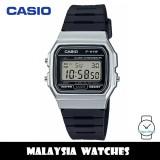 (100% Original) Casio F-91WM-7A Classic Youth Digital Black Resin Watch F91 F-91 F91WM F91WM-7A F-91WM-7ADF