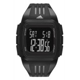 Adidas Performance ADP6094 Duramo Black Dial Black Resin Strap Unisex Watch (Black)