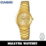 (100% Original) Casio LTP-1170N-9A Quartz Analog Gold-Tone Stainless Steel Woman's Watch LTP1170N LTP1170N-9A LTP-1170N-9AVDF