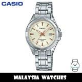 (100% Original) Casio LTP-1308D-9A Quartz Analog Silver-Tone Stainless Steel Woman's Watch LTP1308D LTP1308D-9A LTP-1308D-9AVDF