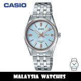 (100% Original) Casio LTP-1335D-2A Quartz Analog Blue Dial Silver-Tone Stainless Steel Ladies Watch LTP1335D LTP1335D-2A LTP-1335D-2AVDF