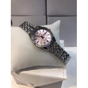 (100% Original) Casio LTP-1335D-5A Quartz Analog Pink Dial Silver-Tone Stainless Steel Ladies Watch LTP1335D LTP1335D-5A LTP-1335D-5AVDF