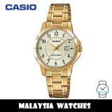 (100% Original) Casio LTP-V004G-9B Quartz Analog Gold-Tone Stainless Steel Ladies Watch LTPV004G LTPV004G-9B LTP-V004G-9BUDF