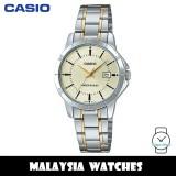 (100% Original) Casio LTP-V004SG-9A Quartz Analog Two-Tone Stainless Steel Ladies Watch LTPV004SG LTPV004SG-9A LTP-V004SG-9AVDF