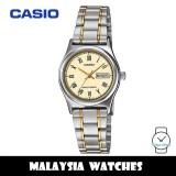 (100% Original) Casio LTP-V006SG-9B Quartz Analog Two-Tone Stainless Steel Strap Ladies Watch LTPV006SG LTPV006SG-9B LTP-V006SG-9BUDF