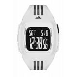 Adidas Performance ADP6091 Duramo XL Black Dial White Resin Strap Unisex Watch (White & Black)