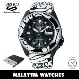 Seiko 5 Sports Superman SRPG43K1 AUTO MOAI Limited Edition 1,500 PCs Automatic Hardlex Crystal Glass Calfskin Strap Watch