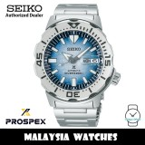 Seiko Prospex SRPG57K1 Monster Save The Ocean Blue Penguin Antarctica Automatic Hardlex Crystal Glass Stainless Steel Divers' Watch