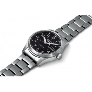 Seiko 5 Sports Superman SRPG27K1 Automatic 100M Black Dial Hardlex Crystal Glass Stainless Steel Men's Watch