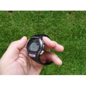 (100% Original) Casio LWS-2000H-1A Sport Quartz Digital Step Tracker Black Resin Ladies Watch LWS2000H LWS-2000H-1AV LWS-2000H-1AVDF