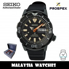 Seiko Prospex SRPH13K1 Black Series Monster Limited Edition 7,000 PCs Automatic Hardlex Glass Silicone Strap Diver's 200M Watch