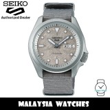 Seiko 5 Sports Superman SRPG63K1 Cement Collection Automatic Hardlex Glass Stainless Steel Case Grey Nylon Strap Men's Watch