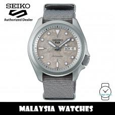 Seiko 5 Sports Superman SRPG63K1 Cement Collection Automatic 100M Hardlex Glass Grey Nylon Strap Watch