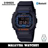 (OFFICIAL WARRANTY) Casio G-Shock GW-B5600CT-1 City Camouflage Tough Solar Bluetooth Digital Black Resin Watch GWB5600 GW-B5600 GWB5600CT GWB5600CT-1 GW-B5600CT-1DR