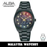 Alba AH7Y41X Tokyo Neon Quartz Black Mother of Pearl Patterned Dial Black-Tone Stainless Steel Women's Watch AH7Y41 AH7Y41X1 (from SEIKO Watch Corporation)