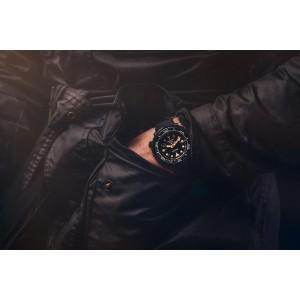 Seiko Prospex SNE577P1 Black Series Tuna Limited Edition 5000 PCs Solar Power Hardlex Glass Silicone Strap Diver's 200M Watch