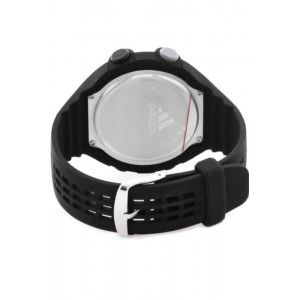 Adidas Performance ADP6080 Questra Black Dial Resin Strap Unisex Watch (Black)