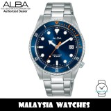 Alba AG8L37X Active Quartz Blue Dial Silver-Tone Stainless Steel Women's Watch AG8L37 AG8L37X1 (from SEIKO Watch Corporation)