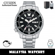 (100% Original) Citizen Promaster Fugu 4th Gen. NY0130-83E Automatic Divers 200M Sapphire Glass Stainless Steel Men's Watch (3 Years Warranty)