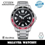 (100% Original) Citizen AW1527-86E Eco Drive Black Dial Silver-Tone Stainless Steel Men's Watch (3 Years Warranty)