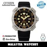 (100% Original) Citizen Promaster BN0220-16E Eco-Drive 200M Diver Super Titanium Case Black Polyurethane Strap Men's Watch (3 Years Warranty)