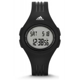 Adidas Performance ADP3159 Uraha Mid Sized Black Resin Strap Unisex Watch (Black)
