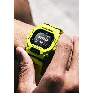 (OFFICIAL WARRANTY) Casio G-Shock GBD-200-9 G-SQUAD Digital Bluetooth Step Tracker Lime Green Resin Watch GBD200 GBD200-9 GBD-200-9DR