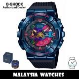 (OFFICIAL WARRANTY) Casio G-Shock GM-110SN-2A Shanghai Night Series Analog Digital Black Resin Strap Watch GM110SN GM110SN-2A GM-110SN-2ADR