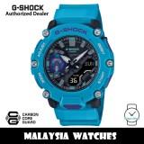 (OFFICIAL WARRANTY) Casio G-Shock GA-2200-2A Analog Digital Carbon Core Guard Turquoise Resin Watch GA2200 GA2200-2A GA-2200-2ADR
