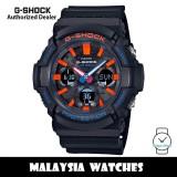 (OFFICIAL WARRANTY) Casio G-Shock GAS-100CT-1A Tough Solar Analog Digital Black Resin Watch GAS100 GAS-100 GAS100CT-1A GAS100CT GAS-100CT-1ADR
