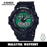 (OFFICIAL WARRANTY) Casio G-Shock GA-700MG-1A Midnight Green Analog Digital Black Resin Watch GA700 GA-700 GA700MG GA700MG-1A GA-700MG-1ADR