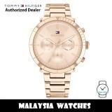 (100% Original) Tommy Hilfiger 1782347 Emery Multi Dial Rose Gold Dial Stainless Steel Women's Watch (2 Years International Warranty)