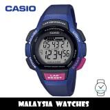 (100% Original) Casio LWS-1000H-2A Youth Digital Lap Memory Blue Resin Watch LWS1000H LWS1000H-2A LWS-1000H-2AVDF