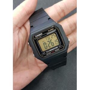 (100% Original) Casio W-217H-9A Standard Digital Black Resin Men's Watch W-217H W217H W-217H-9AV W-217H-9AVDF