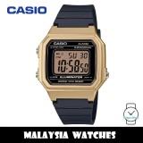 (100% Original) Casio W-217HM-9A Standard Digital 7 Years Battery Black Resin Watch W217HM W-217HM-9AV W217HM-9A W-217HM-9AVDF