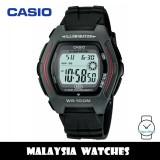 (100% Original) Casio HDD-600-1A Youth Digital 10-Year Battery Life Black Resin Men's Watch HDD600 HDD600-1A HDD-600-1AV