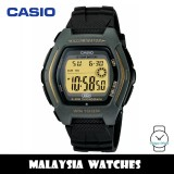 (100% Original) Casio HDD-600G-9A Youth Digital 10-Year Battery Life Black Resin Men's Watch HDD600 HDD600G-9A HDD-600G-9AV